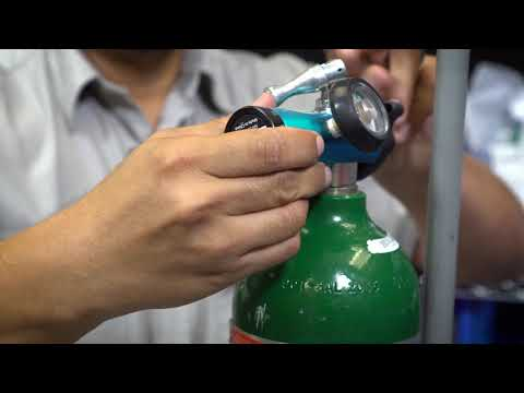 Community Hospice Durable Medical Equipment: Portable Oxygen Tank