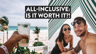 $270 Per Night - Is A Cancun All Inclusive Beach Resort Worth It?   Mexico