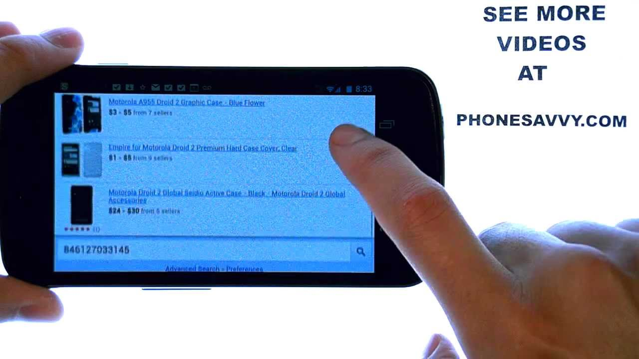 Barcode Scanner App Review Quickly Scan Bar Codes To Get Prices