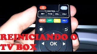 Reiniciando o Sistema Android do TV Box
