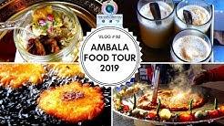 AMBALA FOOD TOUR 2019 | BEST STREET FOOD IN INDIA