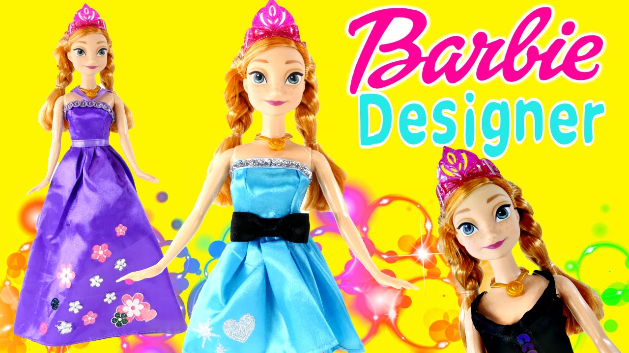 150 Piece Barbie Fashion Plain to Frozen Fabulous Dress Up ...