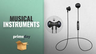 Prime Day Musical Instruments Deals 2018: Bluetooth Headphones Magnetic Wireless Sport Earphones