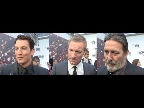 Bleed for This - Miles Teller, Aaron Eckhart, Ciarán Hinds, Ben Younger  - BFI LFF Interviews