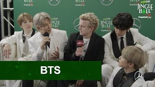 BTS Talks About Upcoming New Music At KIIS FM Jingle Ball