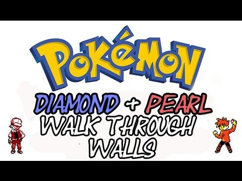 Pokemon Diamond And Pearl - How To Walk Through Walls | Action Replay Codes
