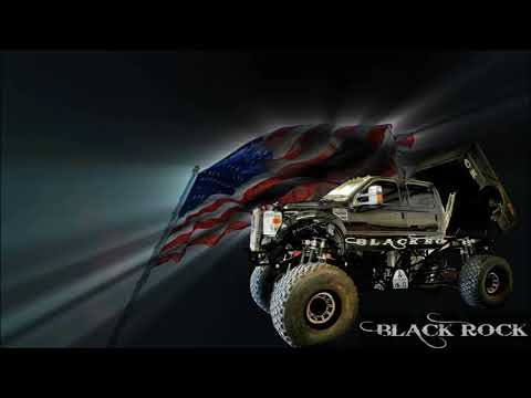 BLACK ROCK ANIMATED FLAG PIC
