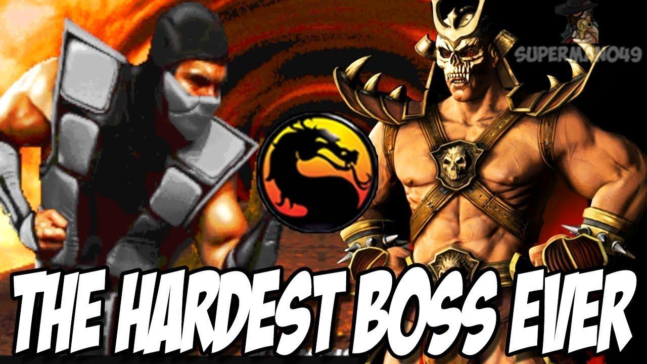 "Download ULTIMATE SHAO KAHN RAGE!!! HARDEST BOSS EVER - Ultimate Mortal Kombat 3: ""Human Smoke"" Arcade"