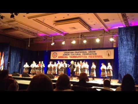 CFU Festival 2016; Gradisce Medley - Folklore Ensemble Hrvatski Tanac Pittsburgh PA