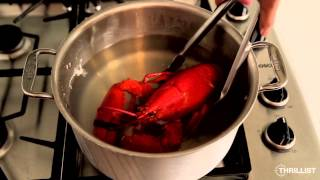 Thrillist Recipes: How To Cook A Lobster