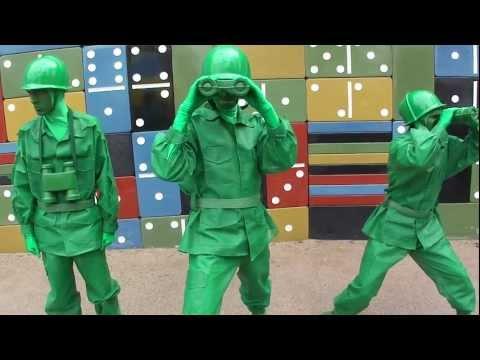 Green Army Men at Disneyland Paris