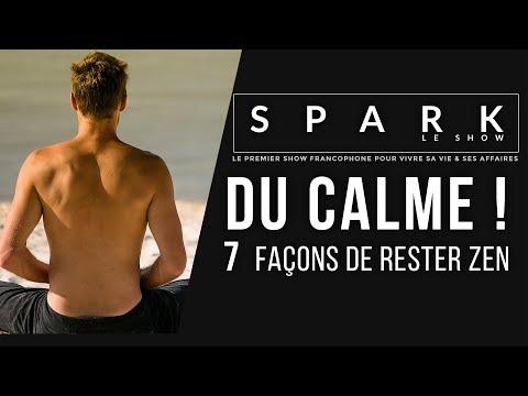 DU CALME! 7 secrets pour rester Zen I Franck Nicolas