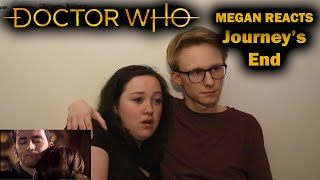MEGAN REACTS - Doctor Who Journey's End (Live Reaction)