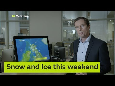 Snow and Ice this weekend 13/12/18