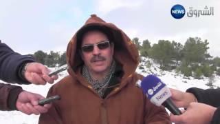 سوق أهراس: تشكيل خلية أزمة بسبب التهاطل الكثيف للثلوج