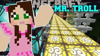 Minecraft: FLOATING WORLD IN THE SKY! - CATCH MR TROLL - Custom Map [5]