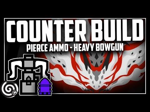 PIERCE AMMO META? Heavy Bowgun SOLO vs AT Xenojiiva | Monster Hunter World