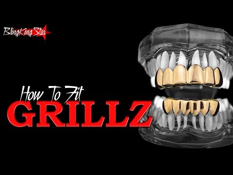 How to Fit Grillz (Video Instructions)