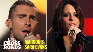 Maroon 5 & Sara Evans Perform 'She Will Be Loved' | CMT Crossroads