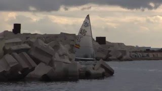 Highlights video from third day at Finn Europeans in Barcelona