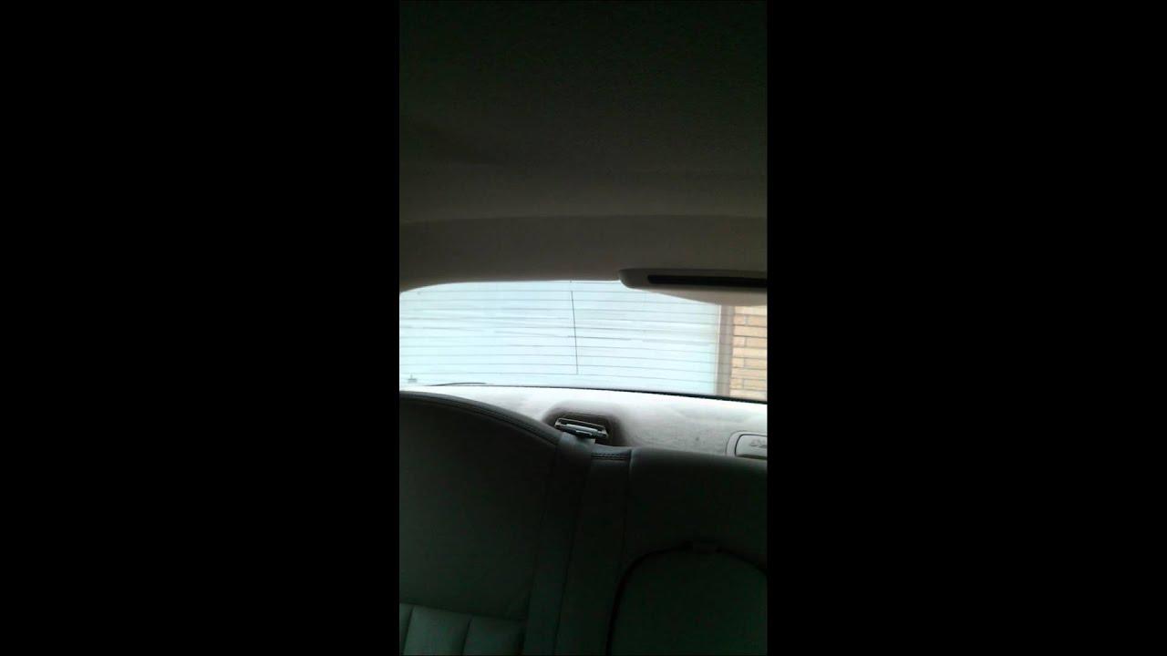 Lincoln Town Car Rear Park Aid Youtube