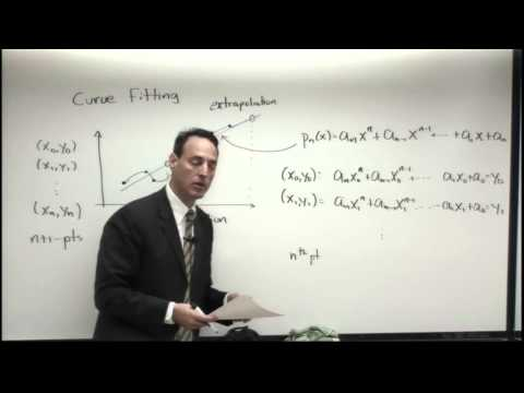 Lecture: Polynomial Fits and Splines