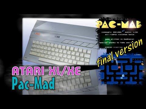 Atari XL/XE -=Pac-Mad=- final version