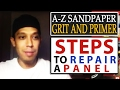 watch he video of A-Z Sandpaper Grit and Primer Steps To Repair a Panel + Auto Body Q&A TALK!