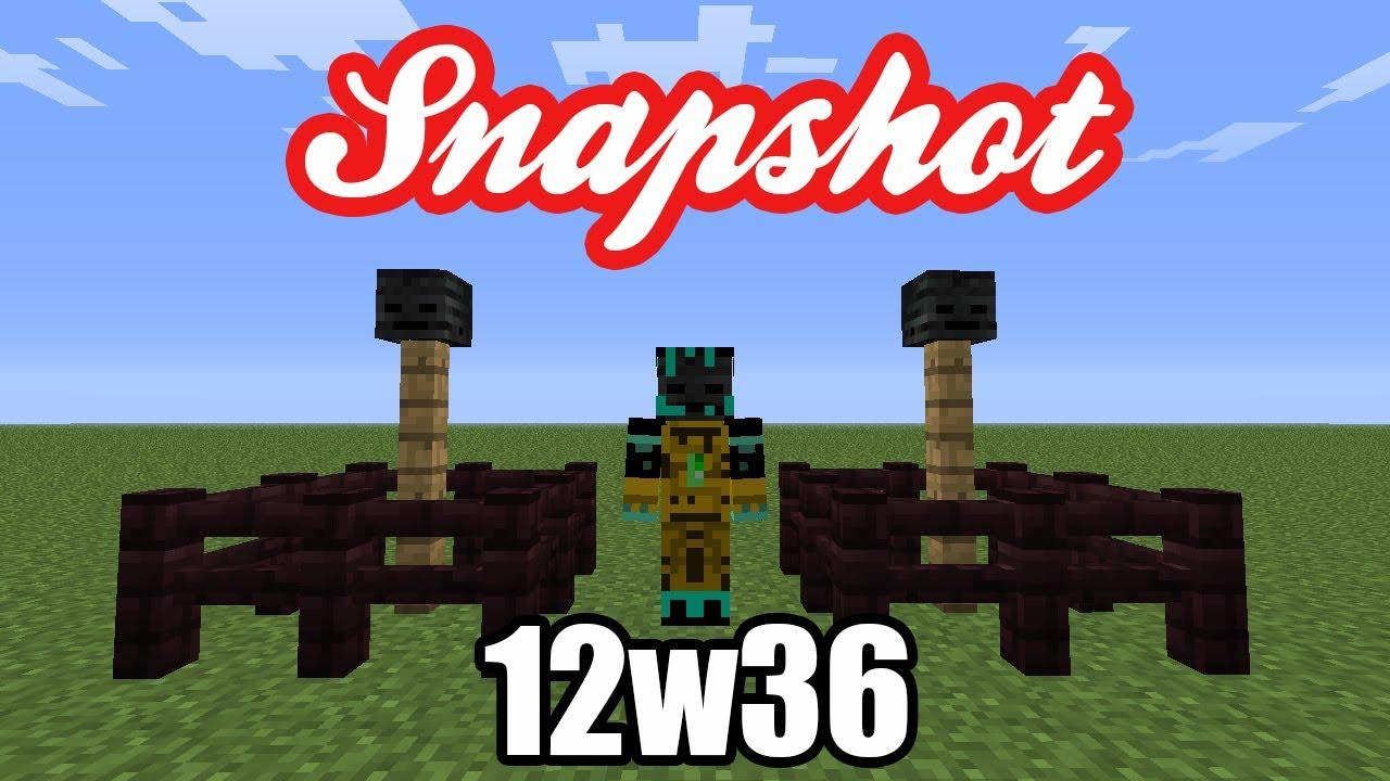 minecraft 12w36