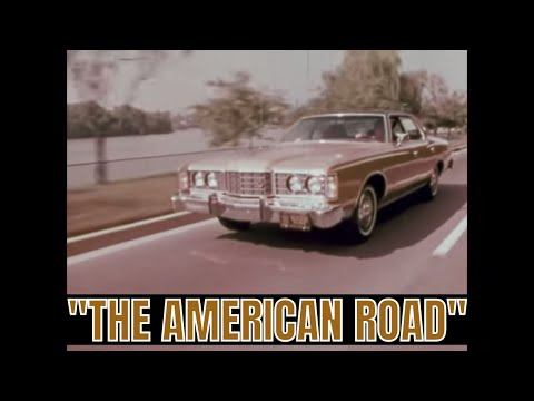 "FORD MOTOR COMPANY ""THE AMERICAN ROAD"" COLOR SEGMENT FROM 1970s 72712A"