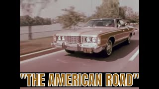 """FORD MOTOR COMPANY """"THE AMERICAN ROAD"""" COLOR SEGMENT FROM 1970s 72712A"""