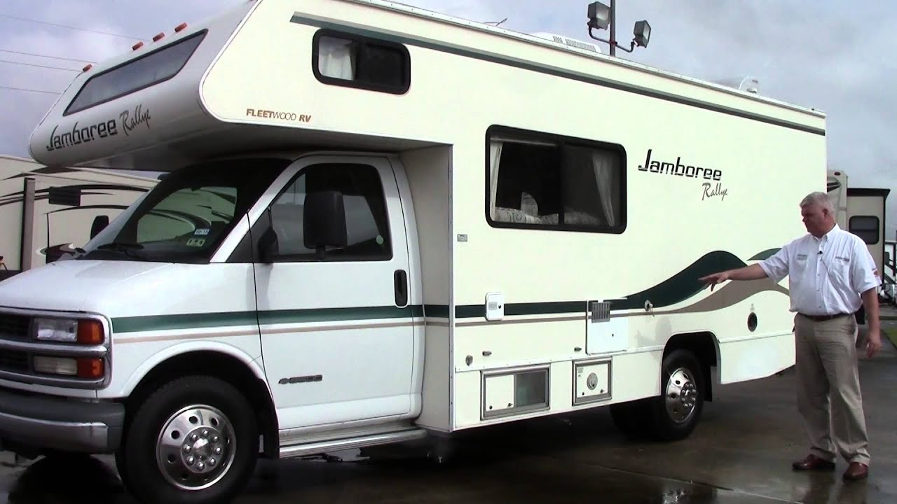 Preowned 2000 Fleetwood Jamboree 23B Class C Motorhome - Holiday World of  Houston in Katy, Texas