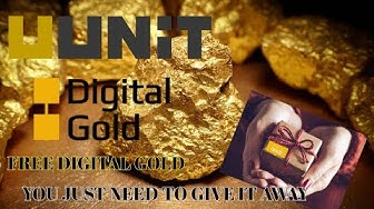 UUNiT The New Community Based Digital Gold  Free Distribution You Just Need To Give It Away