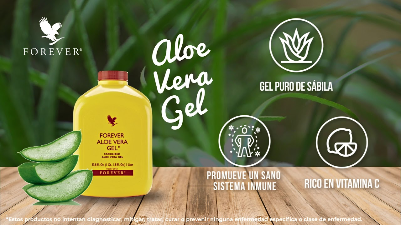Aloe Vera Gel Forever Living Products Youtube