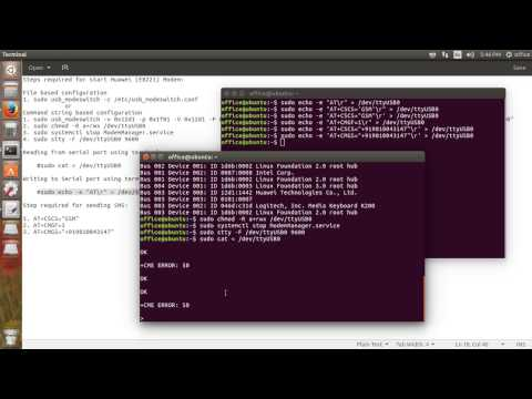 How To Configure Huawei USB Modem To Send And Receive SMS On Linux Or Ubuntu Machine