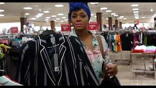 Shopping at JcPenney with Bébé
