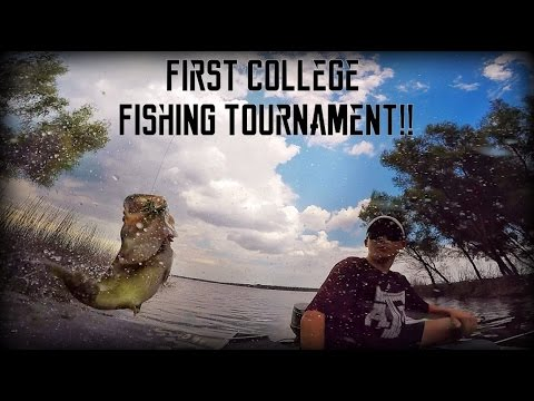 FIRST College Fishing Tournament!! | TylersReelFishing