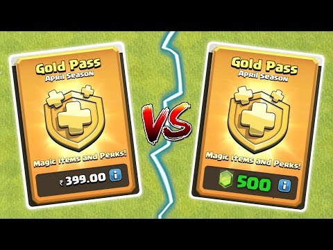 PAISA VS GEMS , GOLD PASS KAISE ? Clash Of Clans