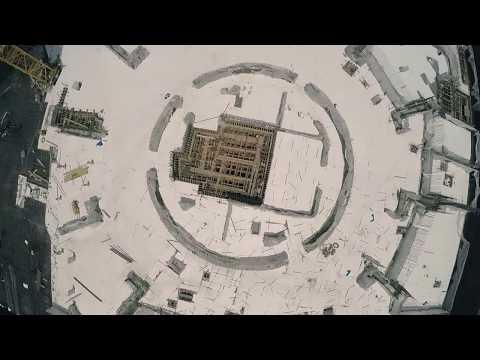 FIVE Dubai Jumeirah Village pouring the concrete foundations