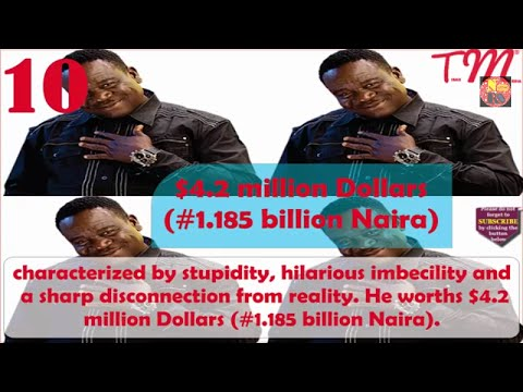 Top 10 Richest Nollywood Actors in 2017 with their net worth (Official Video)