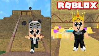 Parkuru Bitiren Kralın Hazinesini Alır!! - Panda ile Roblox Epic Minigames