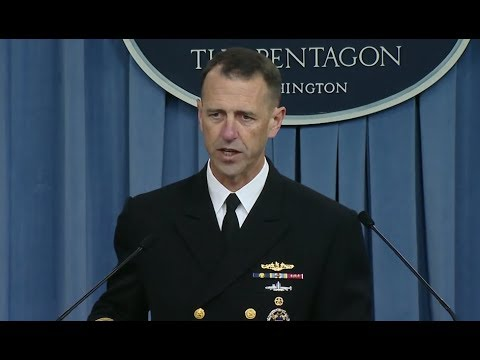 NAVY: 11/2/17. Adm. Richardson Discusses USS McCain & Fitzgerald Collision Investigation Results.