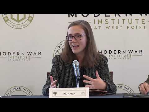 Panel 4 – Class of 2006 War Studies Conference (Nov 2018)