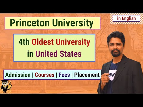 Princeton University | Admission | Courses | Fees | Placement | Universities In USA