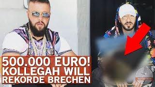 Kollegah kommt mit 500.000€ Outfit zum Videodreh!