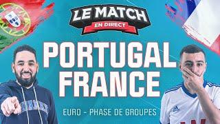 Portugal France Euro Le Match en direct Football