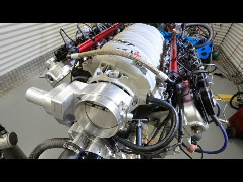 LS3 700hp all motor street engine by CID cylinder heads