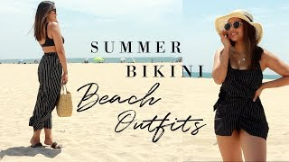 BEACH OUTFIT IDEAS | SUMMER 2018
