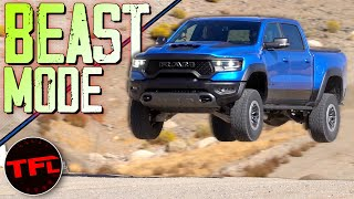 Can The New Ram TRX Run, Crawl And Jump Like A Baja Race Truck?