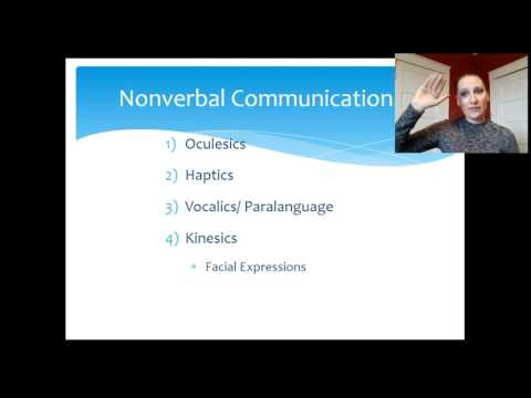 Nonverbal Communication Lecture